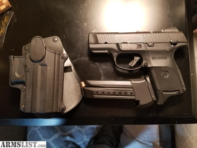 ARMSLIST - For Sale/Trade: Ruger SR9C with holster