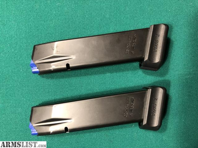 ARMSLIST - For Sale/Trade: (2) Mecgar CZ 75 Plus 2 Magazines