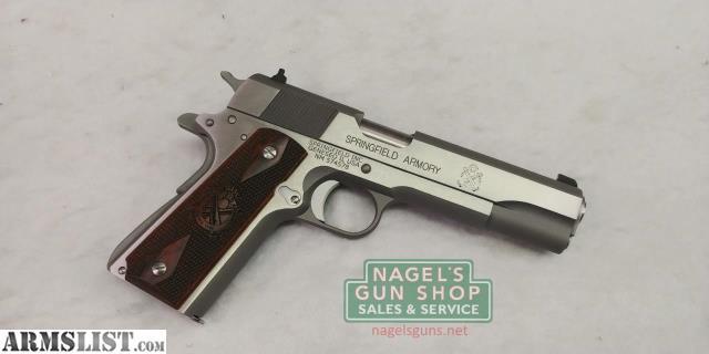 ARMSLIST - For Sale: Springfield Armory 1911 Milspec
