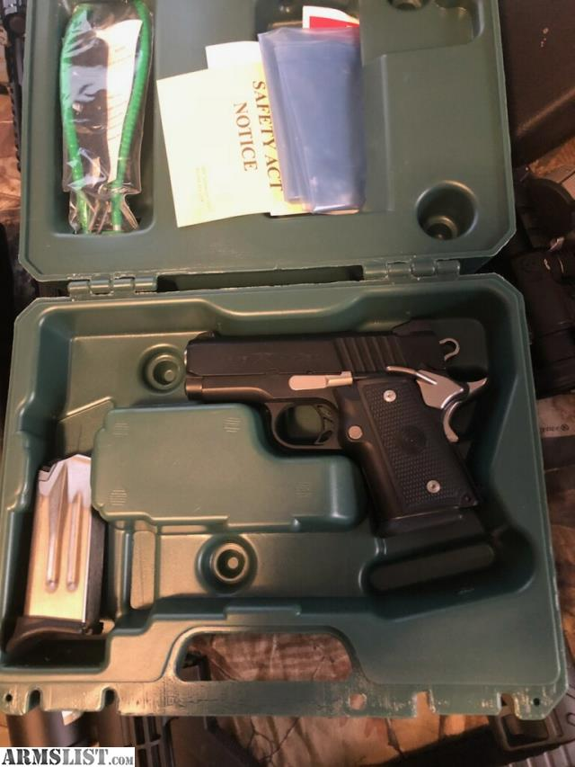 ARMSLIST - For Trade: Double stack 1911im 9mm ccw model