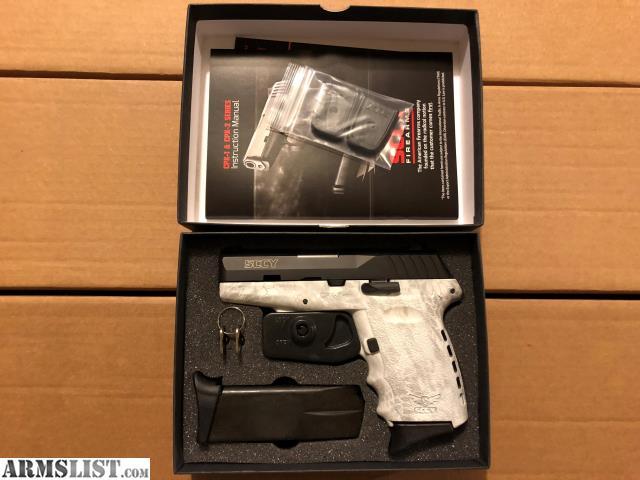 ARMSLIST - For Sale: SCCY CPX2-CBKY 9mm NIB White Kryptek