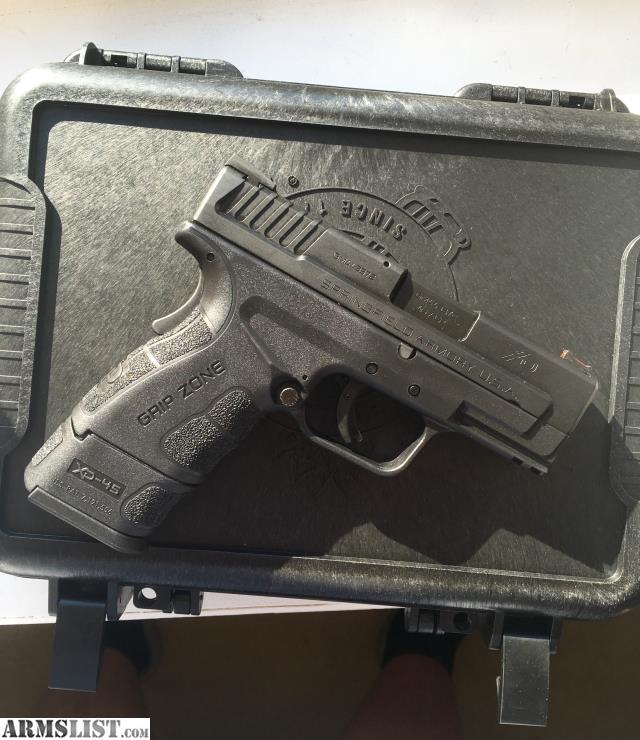 ARMSLIST - For Sale: Springfield XD Mod 2 Sub Compact  45