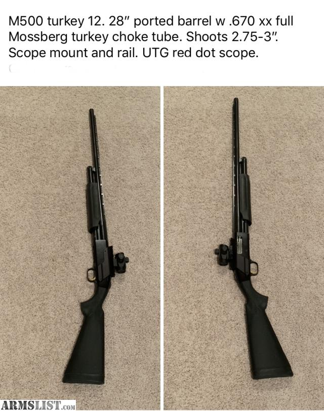 ARMSLIST - For Sale: Mossberg 500 turkey 12 gauge