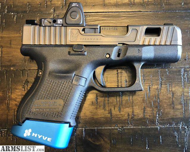 Armslist For Sale Glock 26 Gen5trijicon Rmr Type 2boogeyman