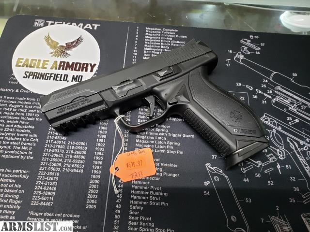 ARMSLIST - For Sale: Ruger American Pistol 9mm Lightly Used