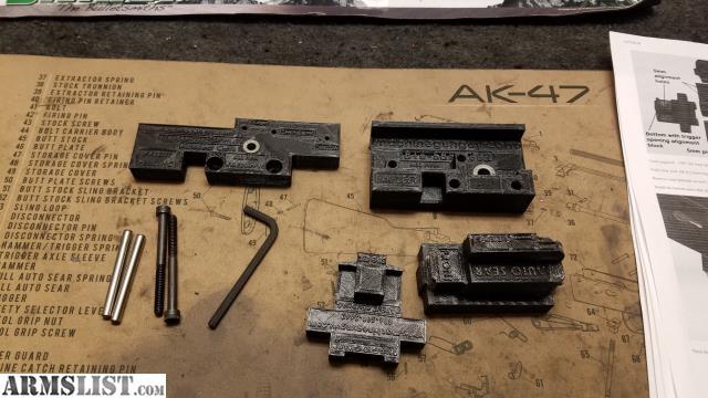 ARMSLIST - For Sale: Full auto jig AK-47 / AK-74 Class II conversion jig