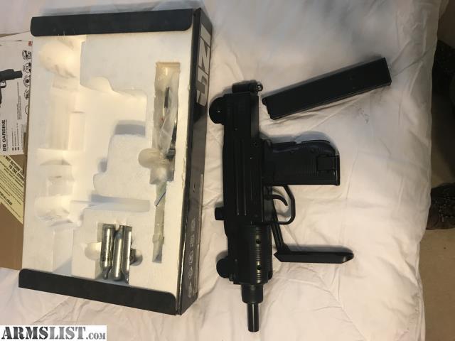 ARMSLIST - For Sale: Full auto Uzi BB gun