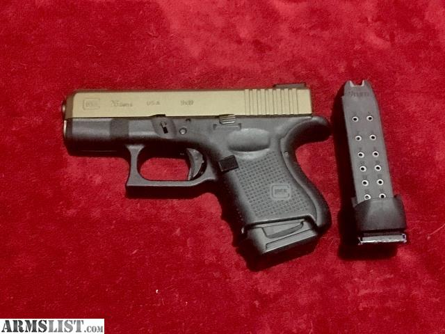 Armslist For Sale Glock 26 Gen 4 Bitone Burnt Bronze