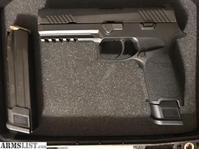 ARMSLIST - For Trade: Sig 320 full-size for Glock 19