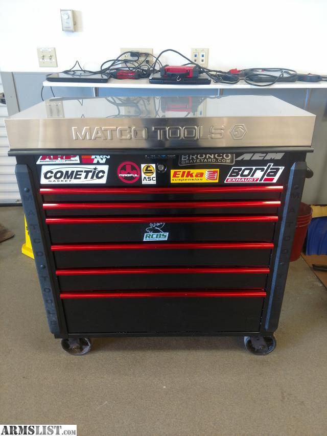 ARMSLIST - For Sale: Matco tool box