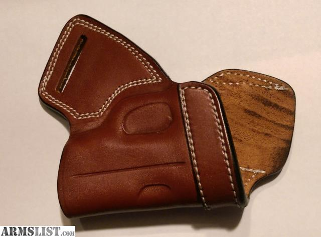 ARMSLIST - For Sale: SMALL OF BACK (SOB) LEATHER HOLSTER
