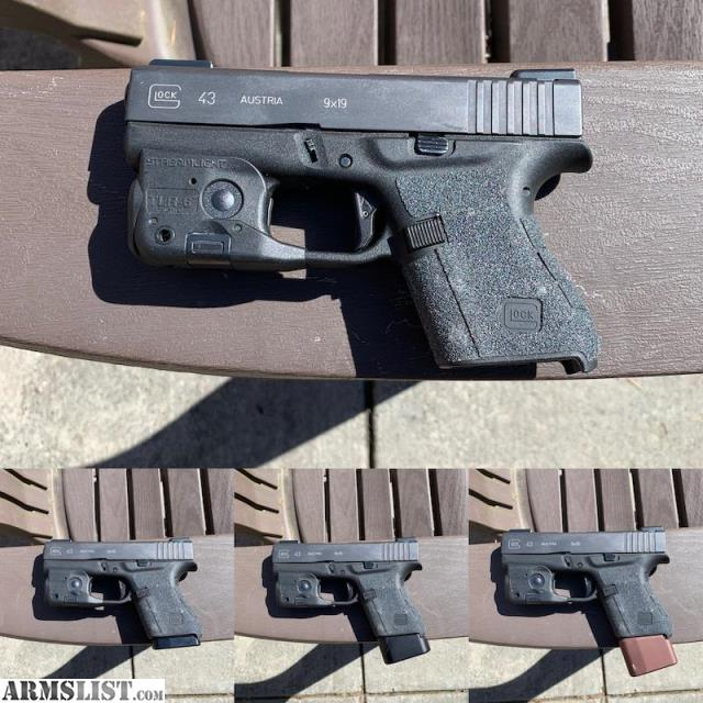 ARMSLIST - For Sale/Trade: Glock 43 Ready To Carry