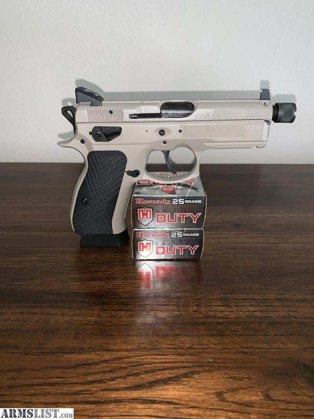 ARMSLIST - For Sale: NIB CZ 75 P-01 Urban Grey Suppressor-Ready Omega