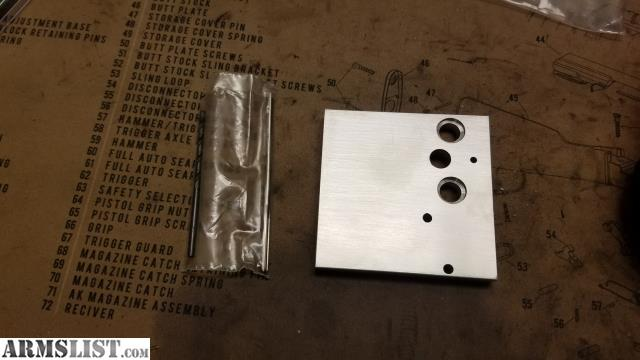 ARMSLIST - For Sale: AR15 Auto sear conversion drilling jig