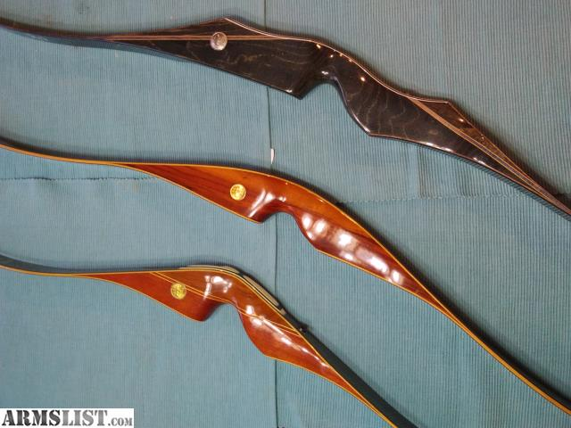 ARMSLIST - For Sale/Trade: 3 Vintage Grayling Bear Recurve Bows