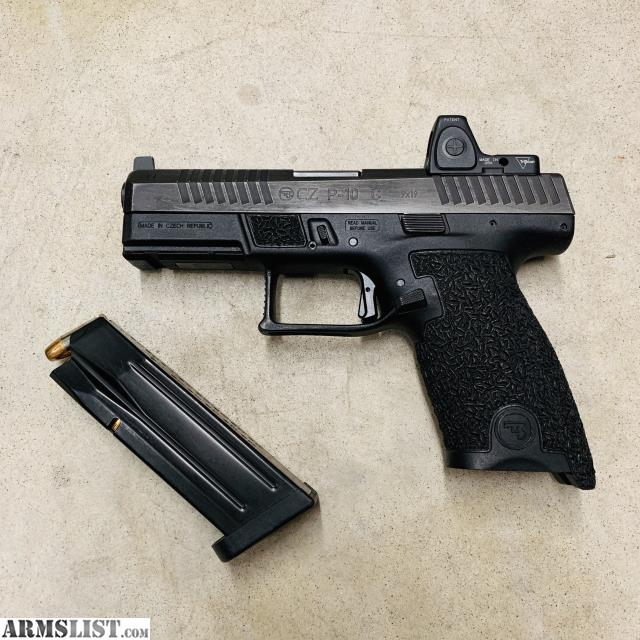 ARMSLIST - For Sale/Trade: Cz p10c - trijicon rmr rm06 type