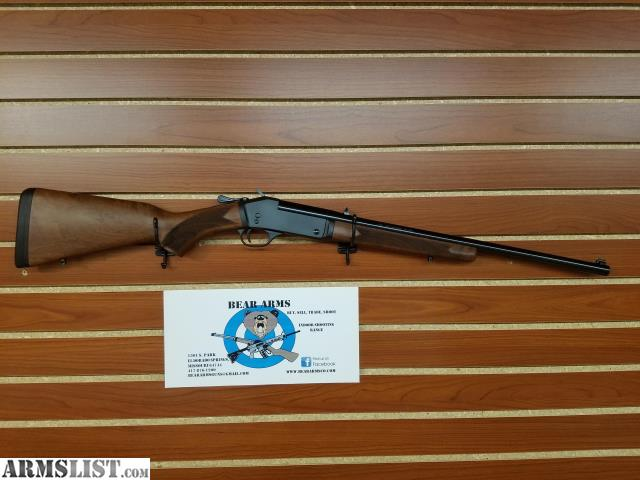 ARMSLIST - For Sale: HENRY 357 MAG SINGLE SHOT STEEL FRAME
