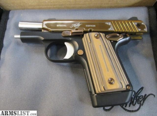 ARMSLIST - For Sale: Fantastic Kimber Micro 9 Rose Gold 9mm