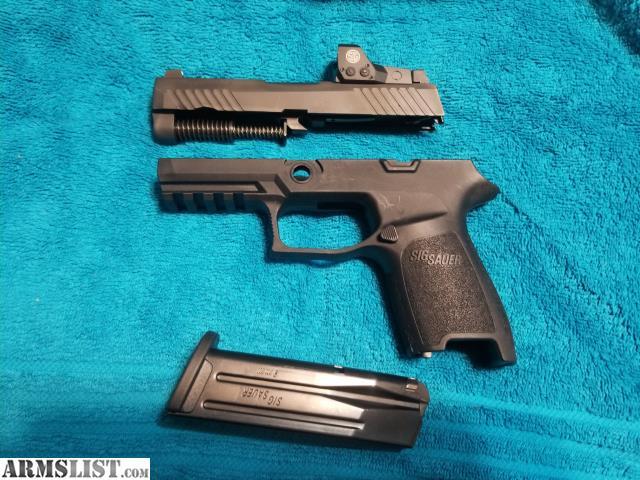 ARMSLIST - For Sale: Sig P320 RX X-Change Kit 9mm
