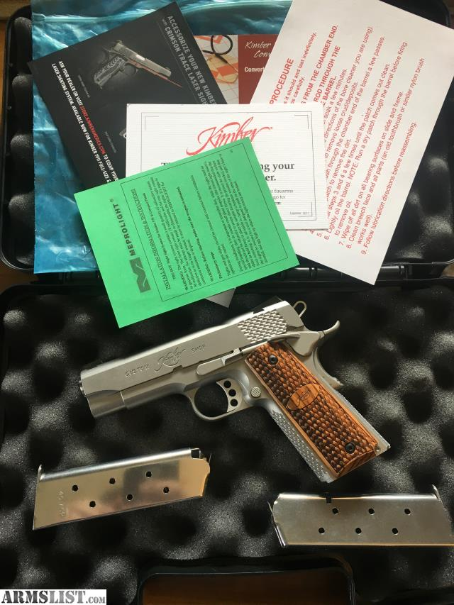 ARMSLIST - For Sale: Custom Shop Kimber Pro Raptor II
