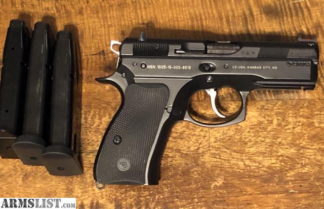 ARMSLIST - For Sale: CZ 75 P-01 9mm