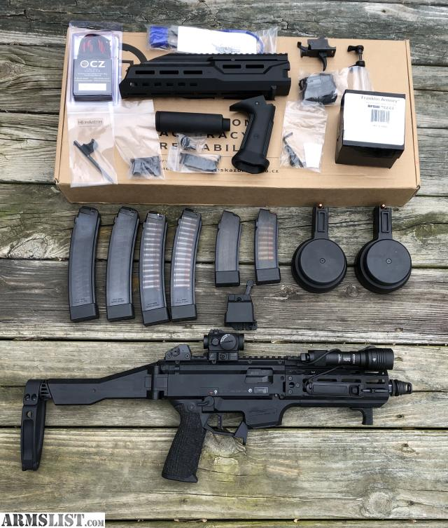 ARMSLIST - For Sale/Trade: MASSIVELY Upgraded CZ Scorpion