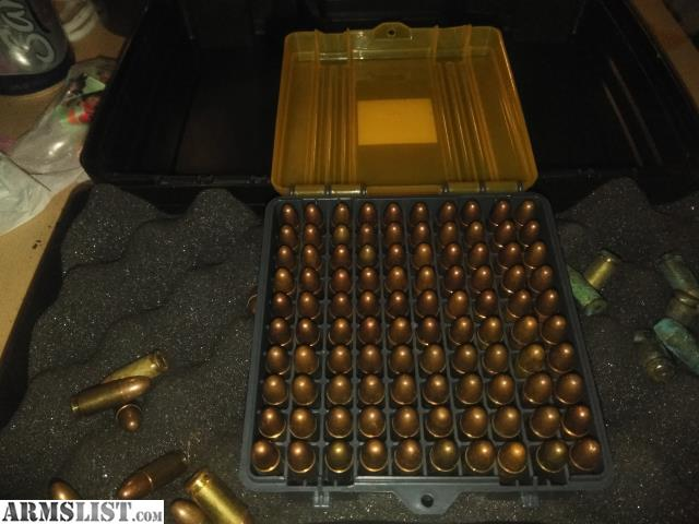 ARMSLIST - For Sale: Gun box and ammo 9mm 100 round