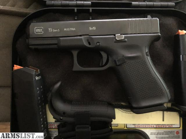 ARMSLIST - For Sale/Trade: Glock 19 gen 5