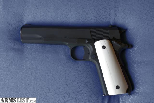 ARMSLIST - For Sale/Trade: 1911 A1 With genuine Ivory Grips