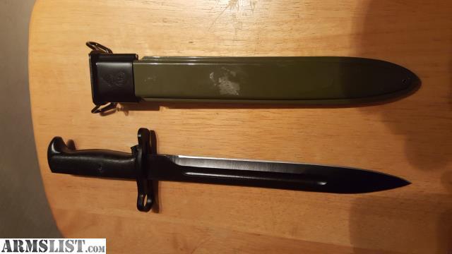 ARMSLIST - For Sale: M1 Garand Repro Bayonet