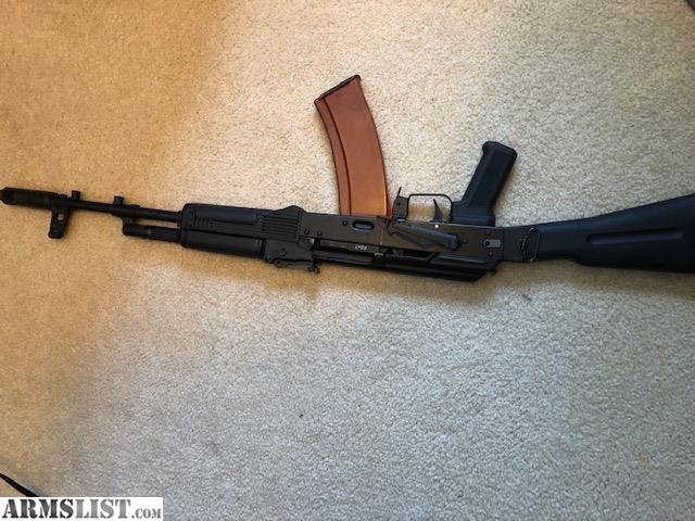ARMSLIST - For Sale: AK 74 Triangle Stock and AK 74 Mags