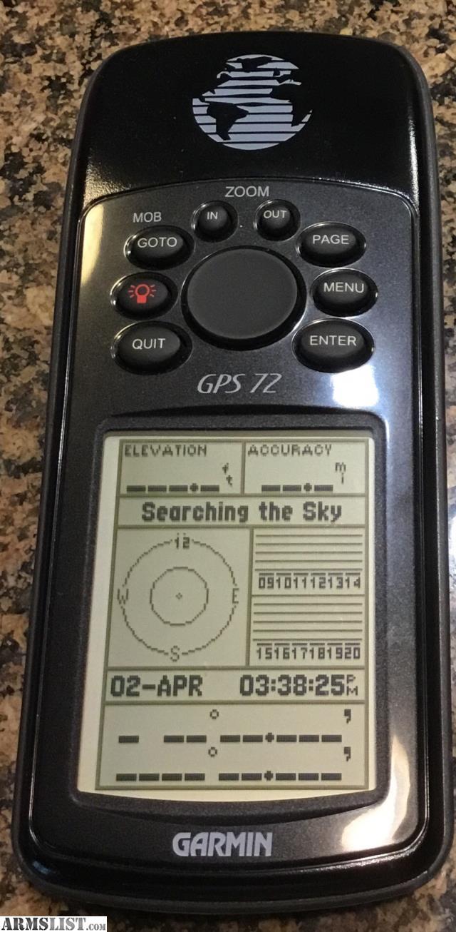 ARMSLIST - For Sale/Trade: Garmin GPS