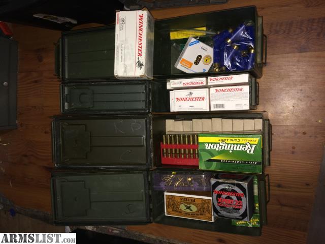 ARMSLIST - For Sale: Ammo-5 56,  22, 30-06, 40 S&W