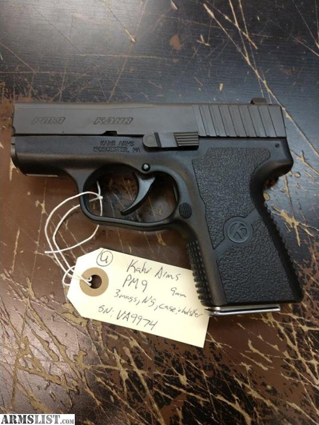 ARMSLIST - For Sale: Used Kahr Arms PM9