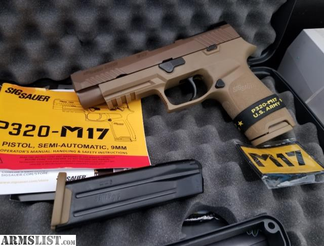 ARMSLIST - For Trade: Unfired Sig Sauer M17 (non safety)