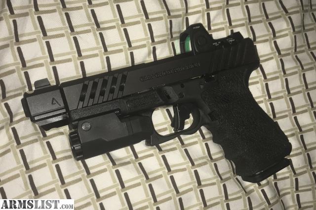 ARMSLIST - For Sale: Glock 19 g3 - grey ghost slide w