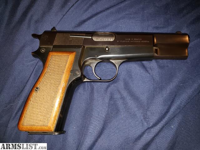ARMSLIST - For Sale: Belgium Browning Hi Power 9mm