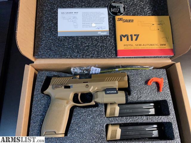 ARMSLIST - For Sale: Sig Sauer M17 Commemorative