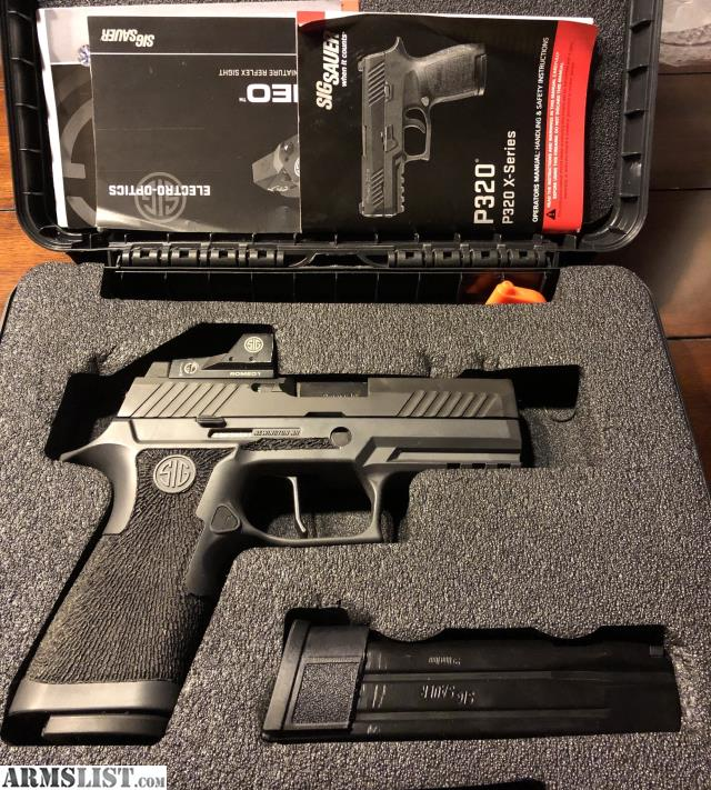 ARMSLIST - For Sale/Trade: SIG P320 RX Apex flat trigger