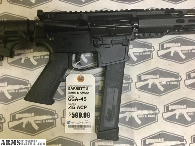 ARMSLIST - For Sale: GGA-15 AR-15 in 45 ACP cal  Carbine