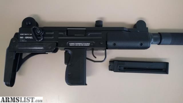 ARMSLIST - For Sale: Walther IWI UZI Rifle 22LR with Folding