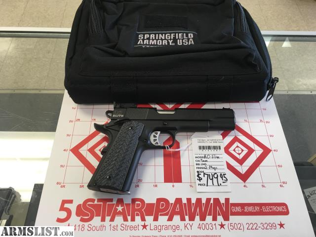 Springfield Armory Range Bag For Sale | Human Resources Newark
