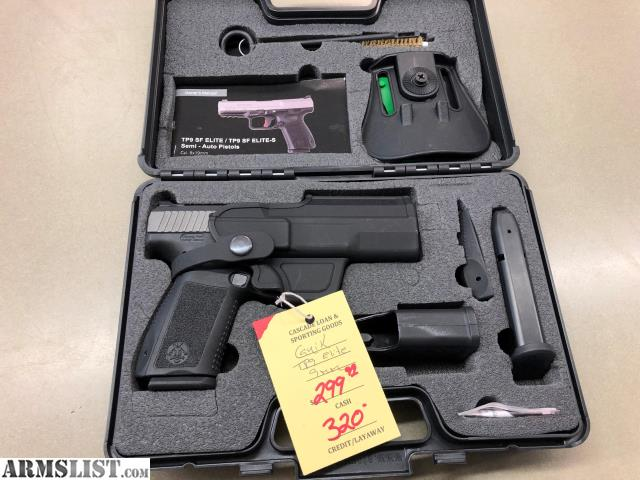 ARMSLIST - For Sale: CANIK TP9SF ELITE 9MM Two 15 Round Mags
