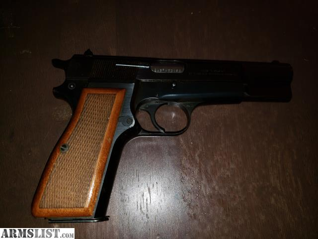 ARMSLIST - For Sale/Trade: Browning Hi Power 9mm