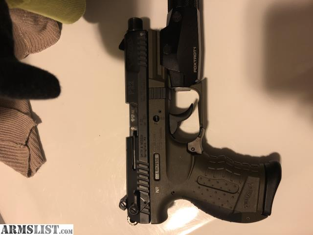 ARMSLIST - For Trade: Walther P22 Green
