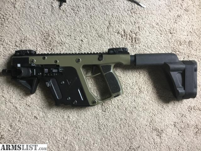 ARMSLIST - For Sale: 9mm Kriss Vector with Binary trigger