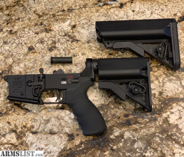 ARMSLIST - For Sale: RARE    LMT Mars-l PDW lower receiver    MY LOSS