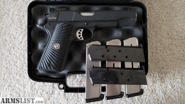 ARMSLIST - For Sale: Springfield 1911 Range Officer Elite