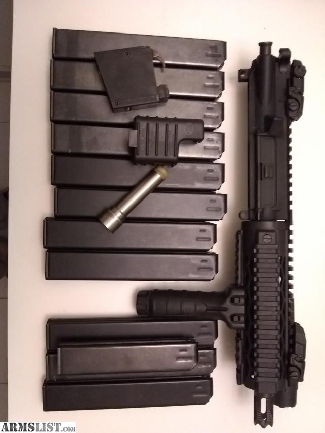 ARMSLIST - For Sale: 9mm AR upper and magazines