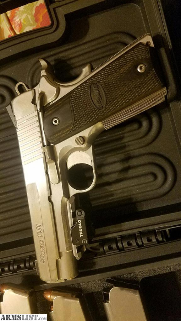 ARMSLIST - For Sale: Sig sauer 1911 with extras